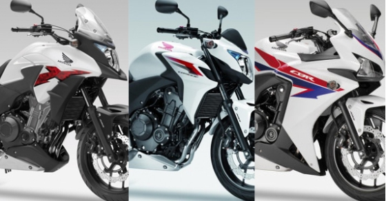 Honda CB500 X, F & R