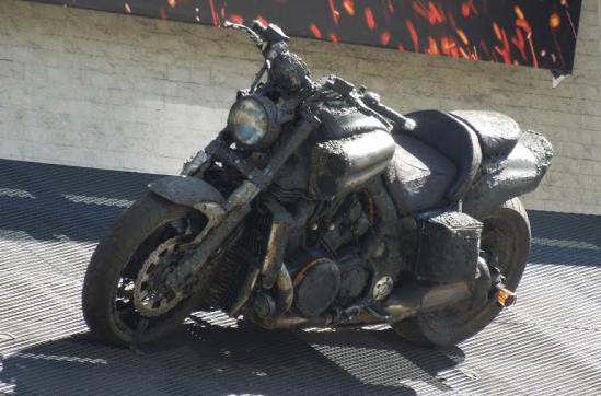 Ghost Rider motorcyle
